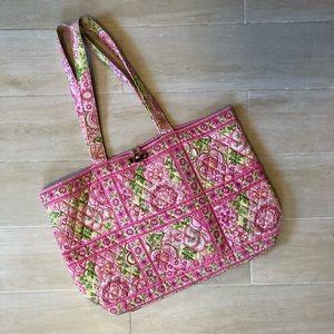 """Vera Bradley """"Petal Pink"""" Tote Bag"""
